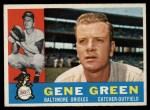 1960 Topps #269  Gene Green  Front Thumbnail