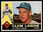 1960 Topps #29  Clem Labine  Front Thumbnail