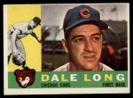 1960 #375  Dale Long  Front Thumbnail