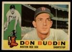 1960 Topps #520  Don Buddin  Front Thumbnail