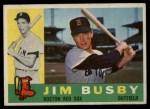 1960 Topps #232  Jim Busby  Front Thumbnail