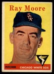 1958 Topps #249   Ray Moore Front Thumbnail