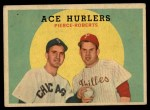 1959 Topps #156   -  Billy Pierce / Robin Roberts Ace Hurlers Front Thumbnail