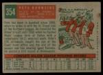 1959 Topps #354  Pete Burnside  Back Thumbnail