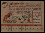 1958 Topps #361   Mike Fornieles Back Thumbnail