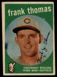 1959 Topps #490  Frank Thomas  Front Thumbnail