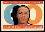 1960 Topps #556  All-Star  -  Charlie Neal Front Thumbnail