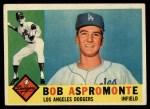 1960 Topps #547   Bob Aspromonte Front Thumbnail