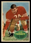 1960 Topps #131   Bob Toneff Front Thumbnail