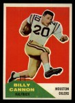 1960 Fleer #66   Billy Cannon Front Thumbnail