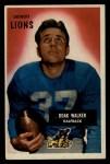 1955 Bowman #1   Doak Walker Front Thumbnail
