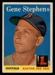 1958 Topps #227   Gene Stephens Front Thumbnail