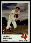 1961 Fleer #202   Johnny Robinson Front Thumbnail