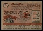 1958 Topps #40   George Kell Back Thumbnail
