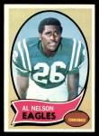 1970 Topps #141  Al Nelson  Front Thumbnail