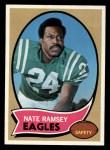 1970 Topps #239  Nate Ramsey  Front Thumbnail