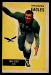 1955 Bowman #105  Tom Scott  Front Thumbnail