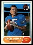 1968 Topps #149   Jack Kemp Front Thumbnail