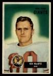 1955 Bowman #60   Ken MacAfee Front Thumbnail