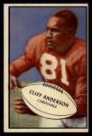 1953 Bowman #72  Cliff Anderson  Front Thumbnail