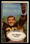 1953 Bowman #10   Pat Brady Front Thumbnail