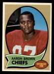 1970 Topps #202   Aaron Brown Front Thumbnail