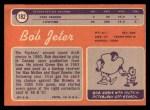 1970 Topps #182   Bob Jeter Back Thumbnail