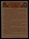 1974 Topps Football Team Checklists #25   49ers Team Checklist Back Thumbnail
