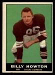 1961 Topps #24   Bill Howton Front Thumbnail