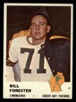 1961 Fleer #97   Bill Forester Front Thumbnail