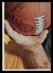 1968 Topps #172   Miller Farr Back Thumbnail