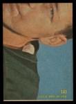 1968 Topps #141   Brad Hubbert Back Thumbnail