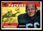 1968 Topps #157   Ray Nitschke Front Thumbnail