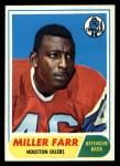 1968 Topps #172   Miller Farr Front Thumbnail