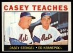 1964 Topps #393   -  Casey Stengel / Ed Kranepool Casey Teaches Front Thumbnail
