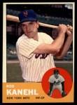 1963 Topps #371   Rod Kanehl Front Thumbnail