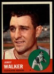 1963 Topps #413 B  Jerry Walker Front Thumbnail