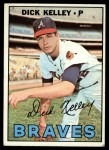 1967 Topps #138   Dick Kelley Front Thumbnail