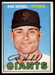 1967 Topps #156   Ron Herbel Front Thumbnail