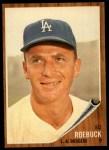 1962 Topps #535   Ed Roebuck Front Thumbnail