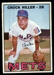 1967 Topps #198  Chuck Hiller  Front Thumbnail
