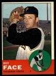 1963 Topps #409  Roy Face  Front Thumbnail