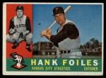 1960 Topps #77   Hank Foiles Front Thumbnail