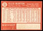 1964 Topps #269  Ellis Burton  Back Thumbnail