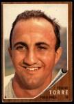 1962 Topps #303  Frank Torre  Front Thumbnail