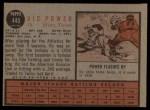 1962 Topps #445  Vic Power  Back Thumbnail