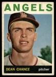 1964 Topps #32   Dean Chance Front Thumbnail