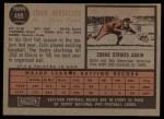 1962 Topps #499   Zoilo Versalles Back Thumbnail