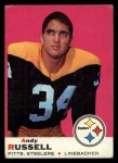 1969 Topps #17   Andy Russell Front Thumbnail