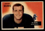 1955 Bowman #53   Ed Brown Front Thumbnail